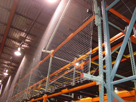 Pallet Rack Netting by Used Pallet Rack Safety Netting