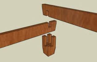 bed frame joints detailed pics of joinery for a bed as