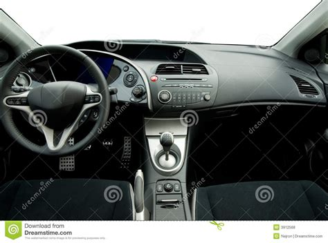 Sports Car Interior by Modern Sport Car Interior Royalty Free Stock Photos