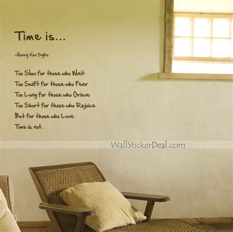 wall stickers with quotes time is quotes wall stickers wallstickerdeal