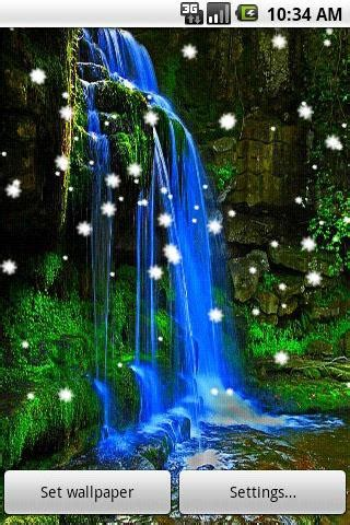 waterfall  wallpaper android apps games