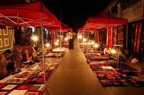 Handcraft Market - handicraft market in luang phrabang