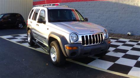 jeep liberty silver 2003 jeep liberty sport buffyscars com