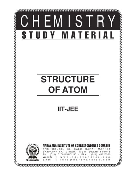 ology the chemistry of happiness books iit class xi chem structure of atoms electron atoms