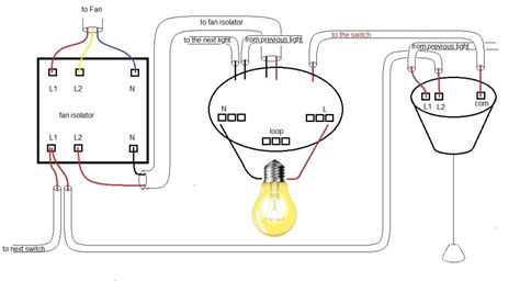 ceiling fan with light wiring diagram one switch ceiling