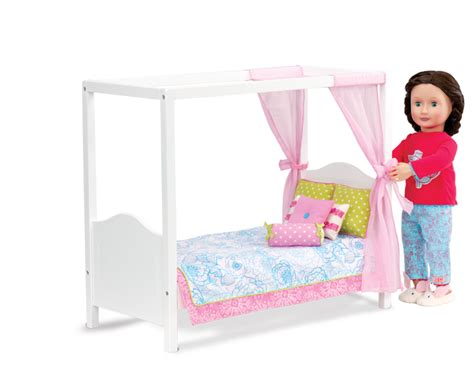 Doll Canopy Bed Bedding My Sweet Canopy Bed Our Generation Dolls 46 99 Soba