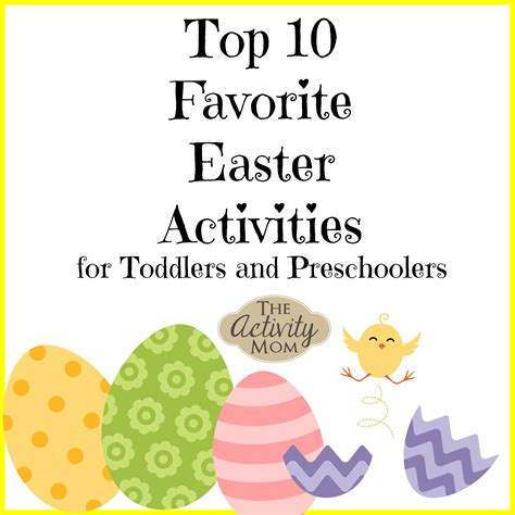 the activity mom 10 easter activities