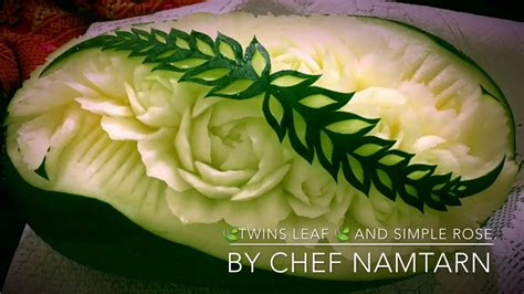 They Been Carving Melons Again by The Leaf And Simple In Watermelon Carving By