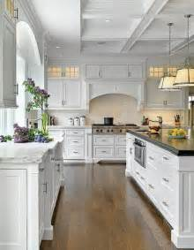 Pretty Kitchens With White Cabinets Beautiful White Kitchen Home