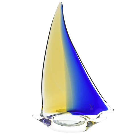 glass sailboat murano glass sailboat glass sailboat sculpture