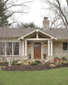 ranch home plans with front porch fairway porch traditional porch kansas city by