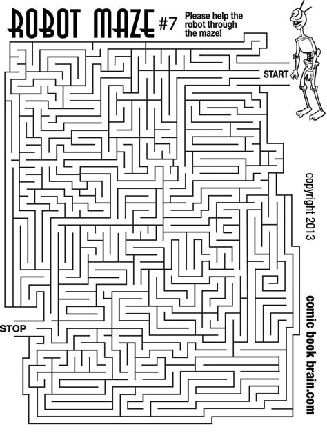6 best images of big printable mazes free printable 6 best images of big printable mazes free printable
