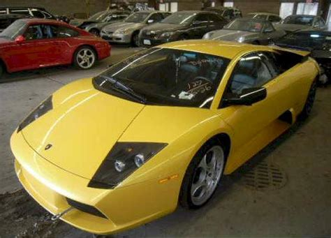 Damaged Lamborghini For Sale Wrecked Lamborghini For Sale Murcielago For Sale 35 000