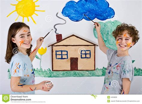 painting for toddlers free painting royalty free stock image image 4459826