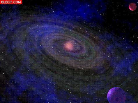 imagenes universo gif gif el movimiento de una galaxia gif 5930