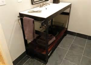 vanity industrial bathroom vanities and sink consoles