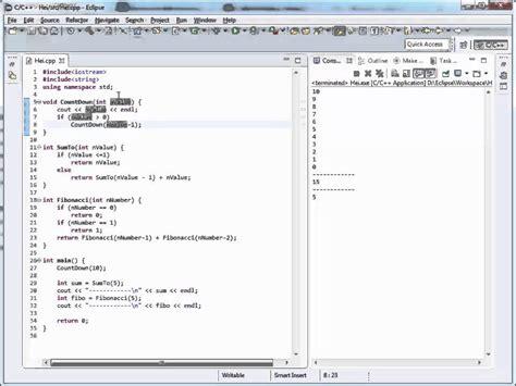 tutorial java romana curs c in limba romana despre recursivitate nr 31