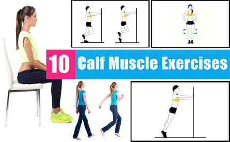 fitneass 10 calf exercises for some great looking