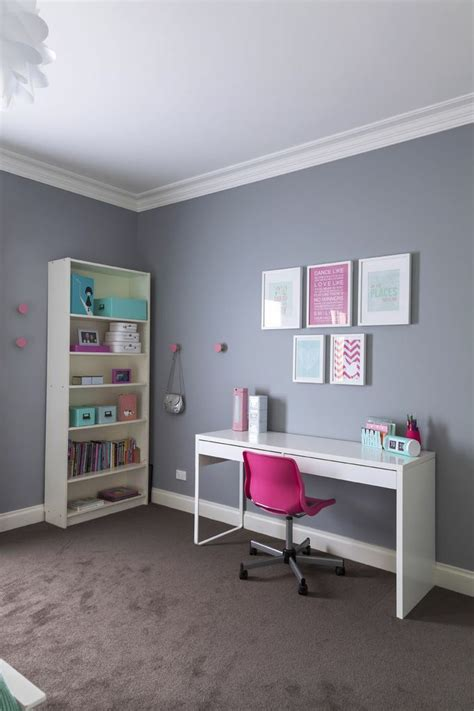 a 10 year old s room by giannetti designs via made by i ve just finished this cool mint and pink room for a 10