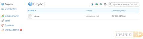 dropbox zaloguj dropbox instalacja oraz obsługa dysku sieciowego