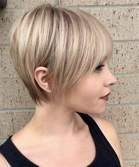 short hair with longer underlayers 50 chic stylish pixie cuts style skinner