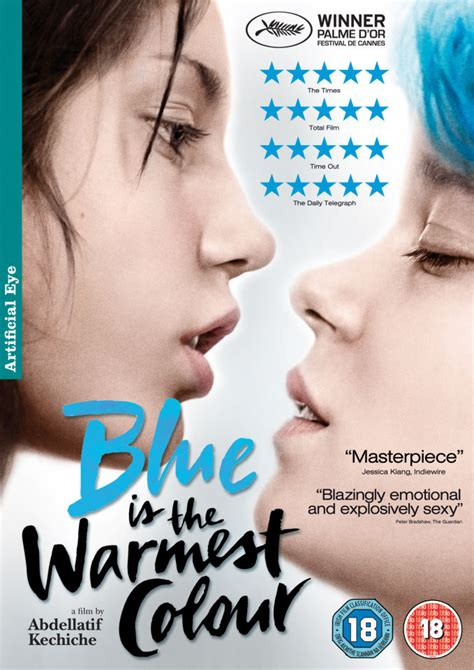 is the color blue is the warmest colour dvd zavvi