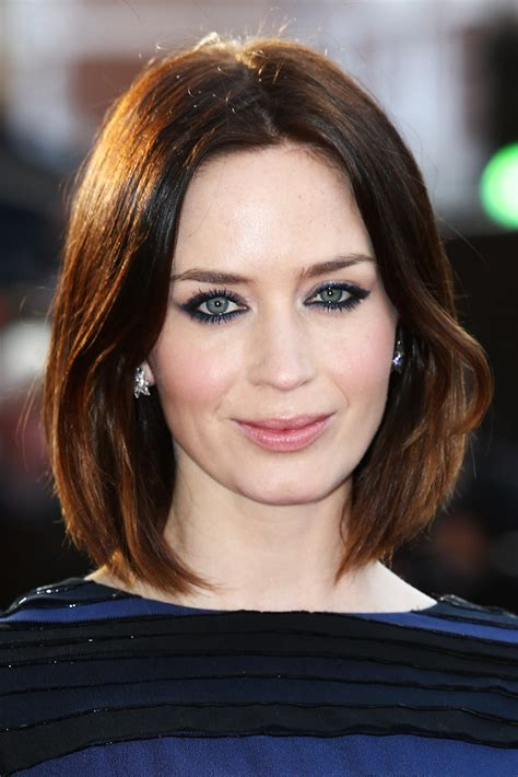 emily blunt hairstyles emily blunt bob emily blunt looks stylebistro