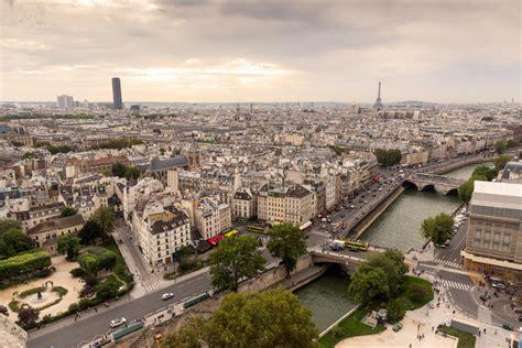 De Montparnasse Its Time by Horizon De Avec Tour Eiffel Et La Tour De Maine
