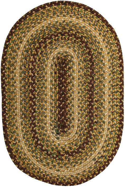 oval braided rugs cheap homespice decor country walk braided area rug collection rugpal countrywalk 5100