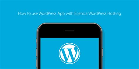 How To Use App How To Use App With Ecenica Hosting
