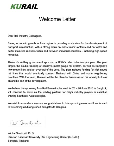 Support Welcome Letter Consulate Letter From Company Previous Best Free Home Design Idea Inspiration