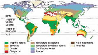 geography biome map