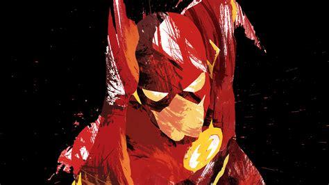 ah flash speed dark hero illust minimal art papersco