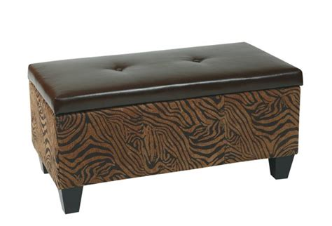 storage benche detour transitional wild espresso bonded leather wood storage benche the classy home