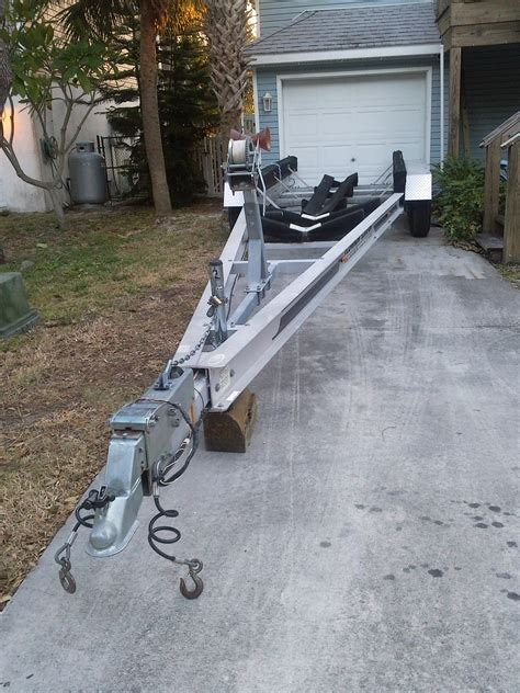triple axle boat trailers for sale used triple axle trailer for sale the hull truth boating