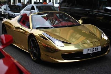 golden ferrari enzo london s supercar season kicks off as arab owned machines