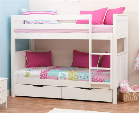 bunk beds with drawers stompa classic bunk beds with drawers rainbow wood