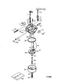 carburetor no 640152 diagram parts list for model hm100159409p tecumseh parts all products