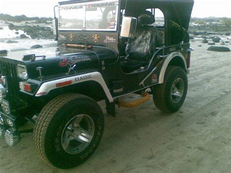 Classic Jeep For Sale Willys Wrangler Thar Mahindra Classic Style Open