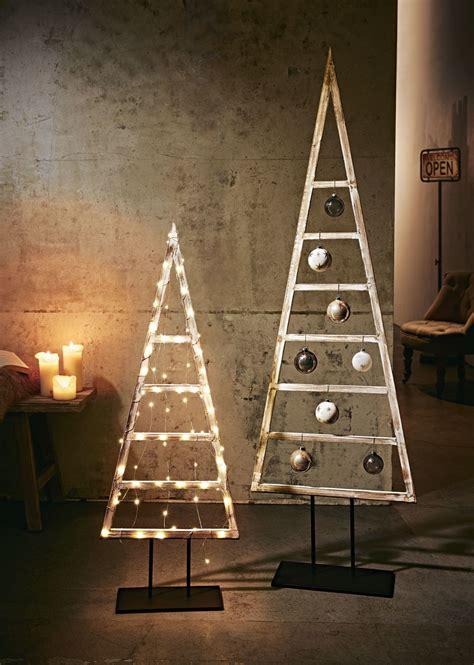 Weihnachtsbaum Modern Holz by Deko Objekt Baum Materialmix Rustikal Holz Metall