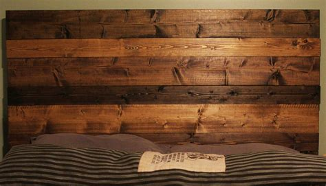 Handmade Wooden Headboards - handmade rustic multi colored wood headboard by thenakedoak