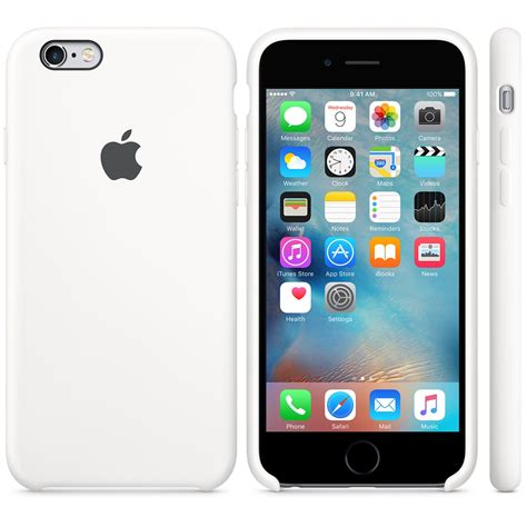 apple iphone 6 apple silicone case for iphone 6 6s white
