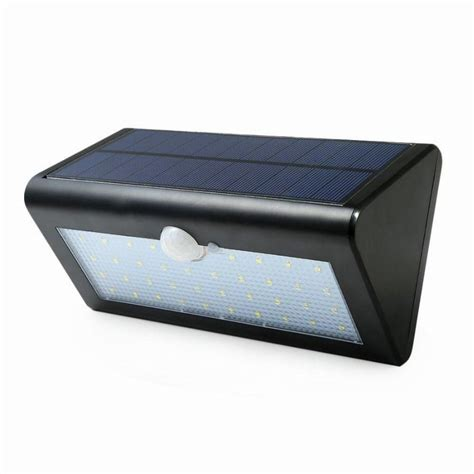 Outdoor 38 Led Solar Powered Wall Sconces Security Lights Lights Solar Powered