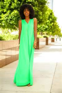 style pantry v back maxi dress