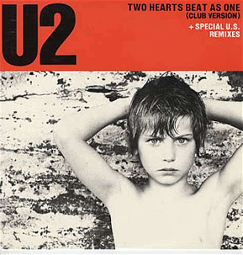 and a beat testo lovely 80 s u2 two hearts beat as one ufficiale