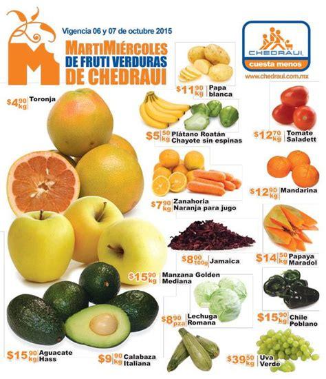 chedraui martes y miercoles de frutas y verduras 13 y 14 de enero chedraui martes y mi 233 rcoles de frutas y verduras 6 y 7 de