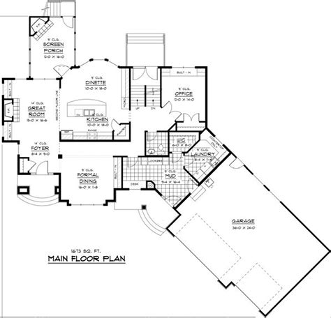 Open Floor Plan House by One Story House Plans With Open Floor Design Basics Guide