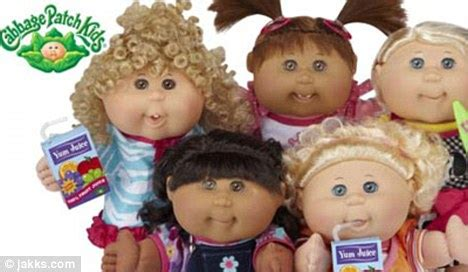 Cabbage patch dolls make a comeback 80s toy returns to the shelves