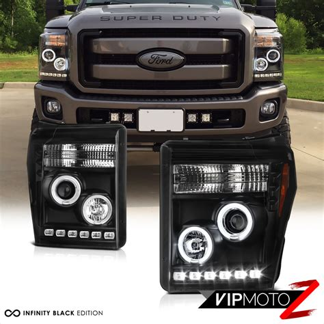 2016 f350 lights brightest ccfl halo led projector headlights 2011 2016