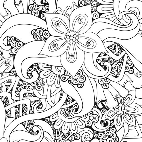 anti stress colouring book chapters free coloring pages of antistress coloriage